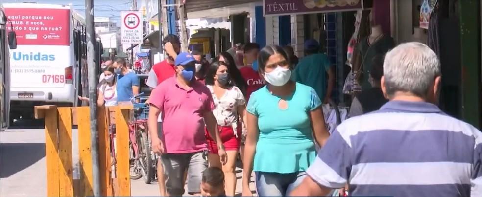 comercio4 - Taxa de transmissão de covid-19 na Paraíba cresce e atinge 1,3; Secretaria de Saúde se preocupa