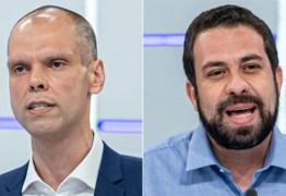Pesquisa Datafolha em São Paulo: Bruno Covas, 48%; Guilherme Boulos, 40%