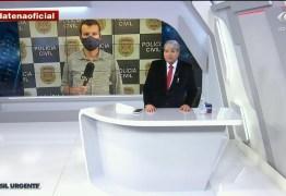 Datena dispensa ao vivo repórter que teve contato com covid-19