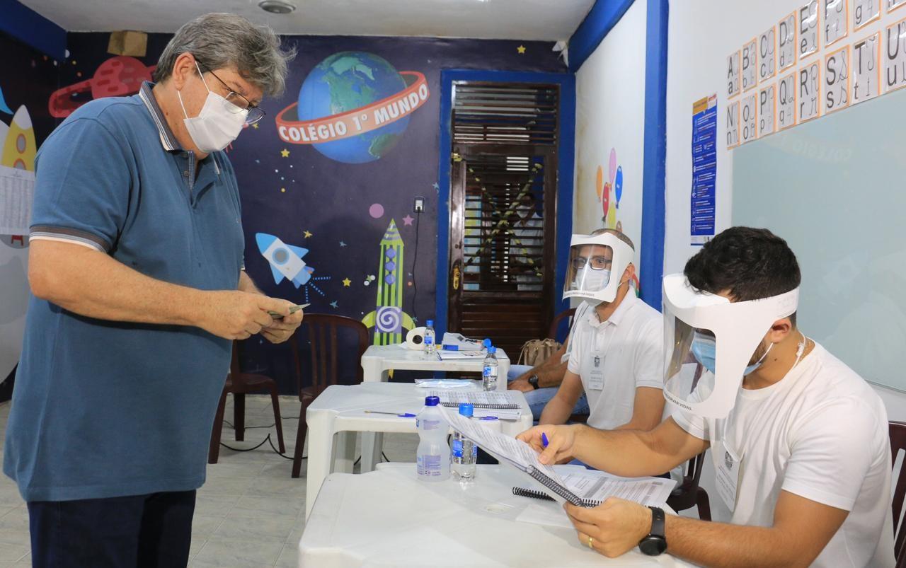 ed4afc5f 0f56 4384 bb51 5488ec3ed61e - PROCESSO ELEITORAL: João Azevedo espera uma disputa acirrada para o segundo turno, em João Pessoa