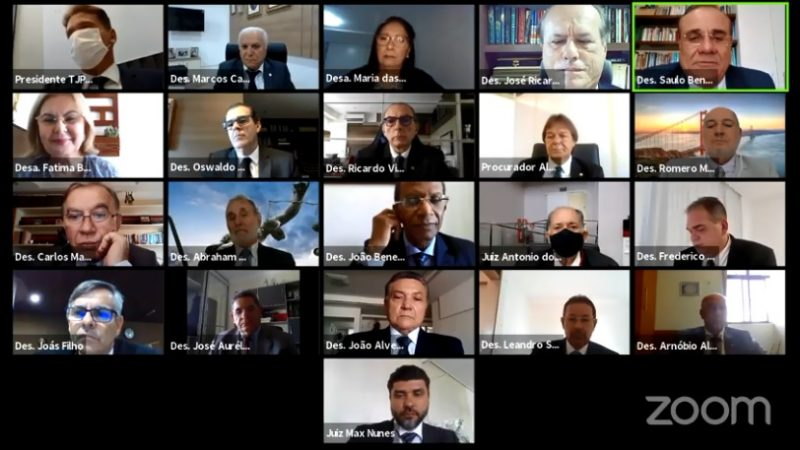 eleição tjpb - POR ACLAMAÇÃO: Saulo Benevides é eleito presidente do TJPB