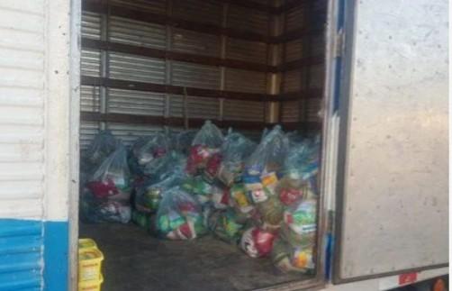 imagem 2020 11 11 204816 - COMPRA DE VOTOS: Polícia Militar apreende 100 cestas básicas que seriam distribuídas em cidade da Paraíba
