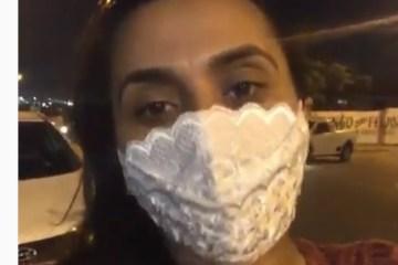 'Colocou o revólver na minha cintura e levou meu carro': Apresentadora de TV Jaceline Marques é assaltada na porta de igreja – VEJA VÍDEO