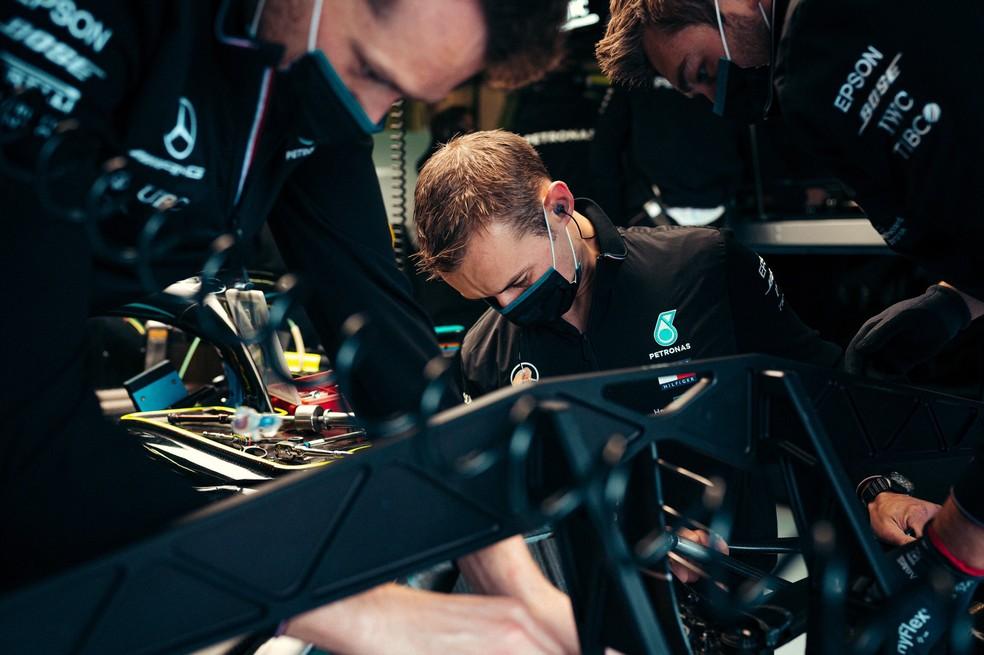 mercedes nurburgring 2020 - Williams registra casos de Covid-19 nas etapas de Portugal e Imola e isola funcionários