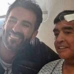 o medico leopoldo luque e maradona apos sua cirurgia 1606338984799 v2 300x225 - Última foto pública de Maradona com vida causa disputa entre família, médico e advogado