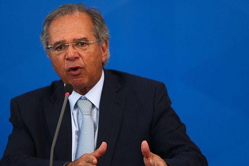 paulo guedes   - Auxílio emergencial pode voltar caso haja nova onda de Covid, diz Guedes