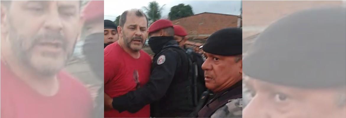 prisaofabio - EM GUARABIRA: Advogado do MDB é preso e derrubado no chão pela PM - VEJA VÍDEOS