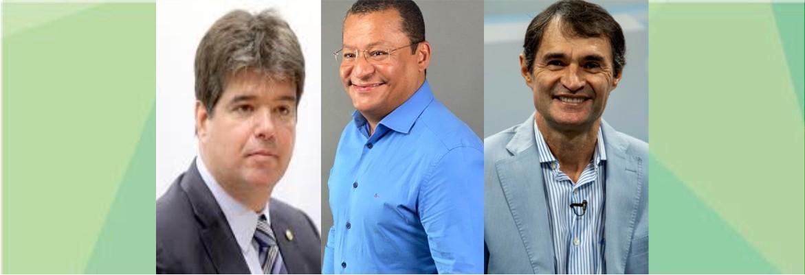 ruy nilvan e romero - Romero, Ruy e Gadelha se reunem com Nilvan e Maranhão e acertam aliança para o 2º turno