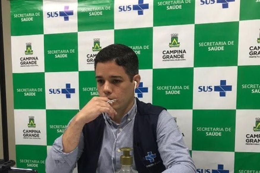 secretario saude cg - Secretário de Saúde descarta novo lockdown em Campina Grande