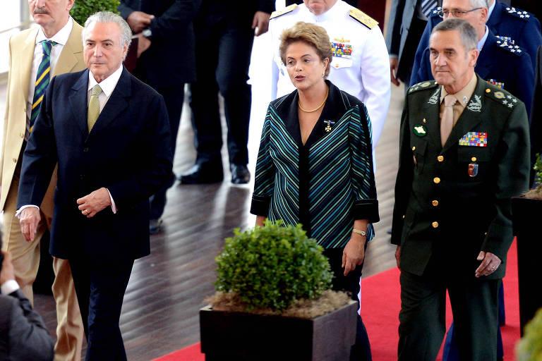 teemer - Militares procuraram Temer para reclamar de Dilma e PT antes do impeachment