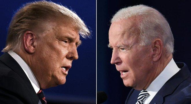 trump vs biden 04112020093731054 - ELEIÇÕES EUA: Estado da Geórgia fará recontagem de votos