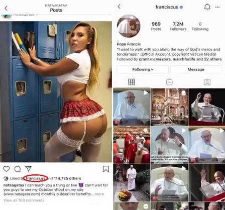xblog franciscus.jpg.pagespeed.ic .61dOP4LMWU - Vaticano diz que pediu ajuda ao Instagram sobre 'curtida' de conta do Papa em foto da modelo brasileira