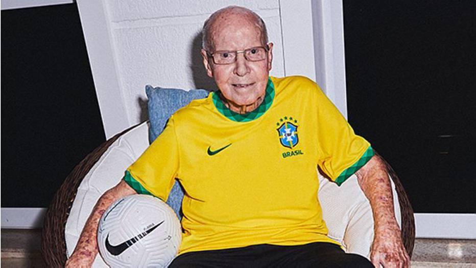 """zagallo - Aos 89 anos, Zagallo cria conta no Instagram: """"Vocês vão ter que me engolir"""""""