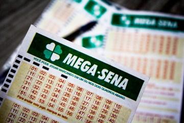 1 mega sena - Mega-Sena acumula e prêmio vai a R$ 4 milhões