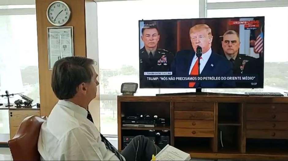 1578507383336 - Putin parabeniza Biden enquanto Bolsonaro mantém silêncio