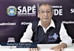 Após derrota eleitoral, prefeito de Sapé promove demissões de médicos e enfermeiros da linha de frente