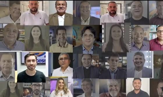 ARAPUAN TV - 'SEGUIREMOS JUNTOS': Sistema Arapuan divulga mensagem de feliz ano novo aos paraibanos; VEJA VÍDEO