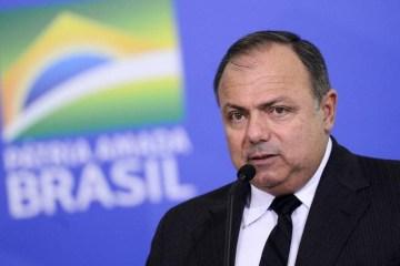 Eduardo Pazuello ministro da saude - Pazuello diz que tratamento precoce 'fez e faz a diferença' para Covid