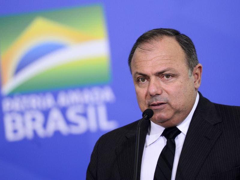 Eduardo Pazuello ministro da saude - Brasil já tem 300 milhões de doses de vacina para Covid-19, diz Pazuello