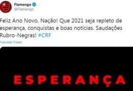 Virou meme: Flamengo faz post de Ano-Novo um dia antes e gafe vira piada nas redes