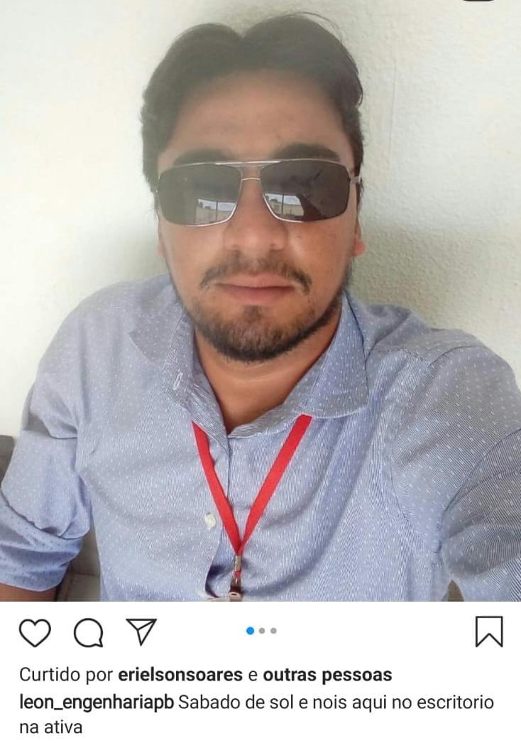WhatsApp Image 2020 12 15 at 15.48.17 - EXCLUSIVO! Suspeito da morte de Expedito Pereira postou foto com a camisa do crime - VEJA IMAGENS