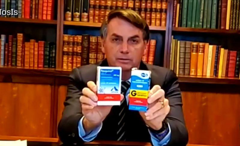 """bolsonaro e a cloroquina - AVAL A BOLSONARO - Por que milhões de brasileiros se """"abraçam"""" a morte voluntariamente??? - Por Marcos Thomaz"""