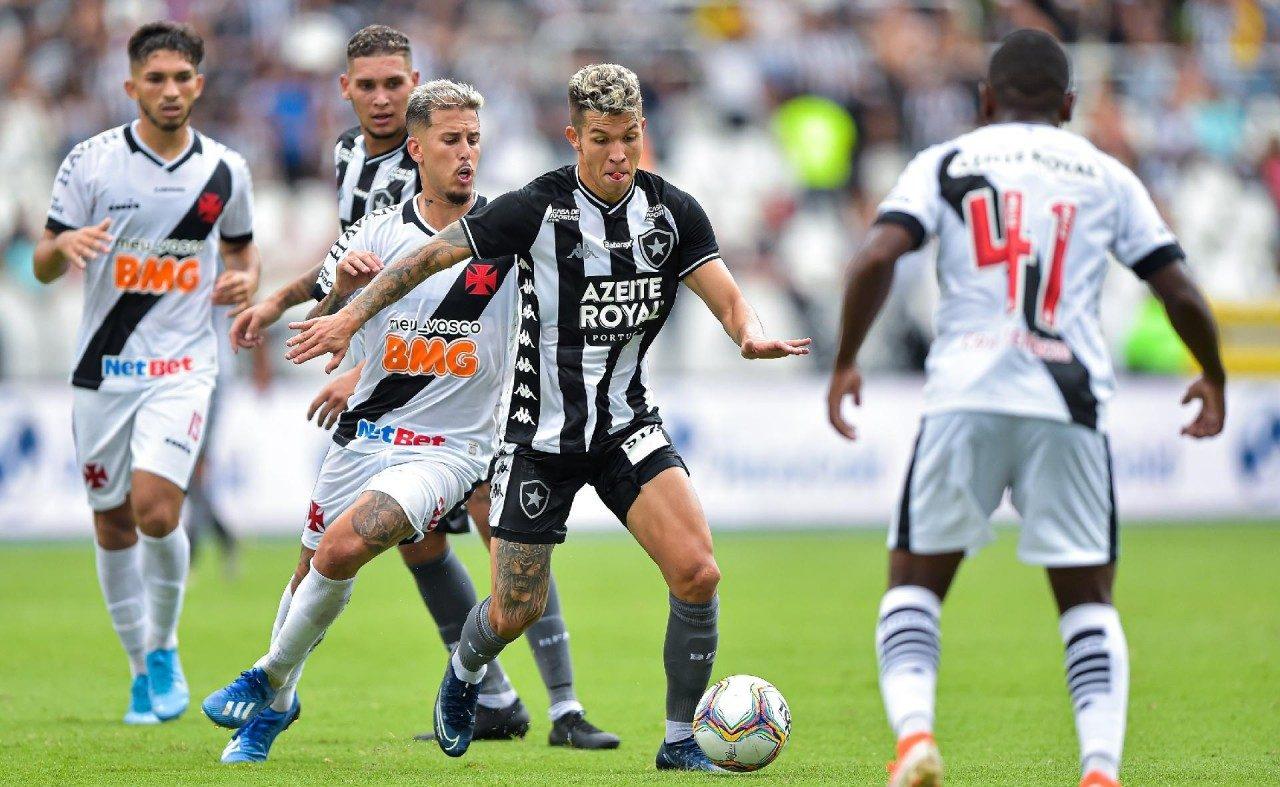 """botafogo x vasco e1609330388913 - Análise: """"Poderemos ter uma Série B com Cruzeiro, Botafogo e Vasco"""", diz comentarista"""
