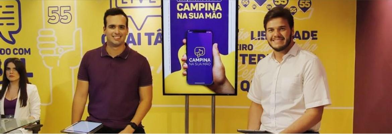 bruno e lucas - Cerimonial anuncia programação de posse de Bruno Cunha Lima em Campina Grande