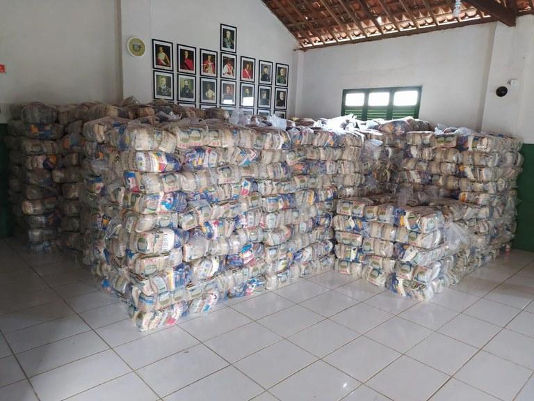 cestas básicas - ISOLAMENTO: Funai vai distribuir mais de 6 mil cestas de alimentos a indígenas da Paraíba