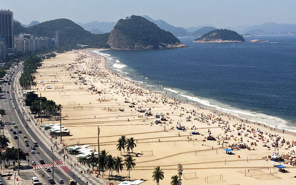 copa 1 - Réveillon: Prefeitura do Rio proíbe queima de fogos e uso de som em praias