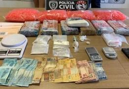 Operação prende mais três suspeitos de traficar drogas pelos Correios na PB