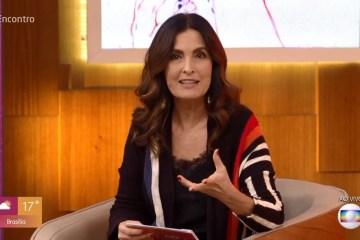 fatima bernardes encontro bonner - Fátima Bernardes é diagnosticada com câncer de útero e será afastada do seu programa
