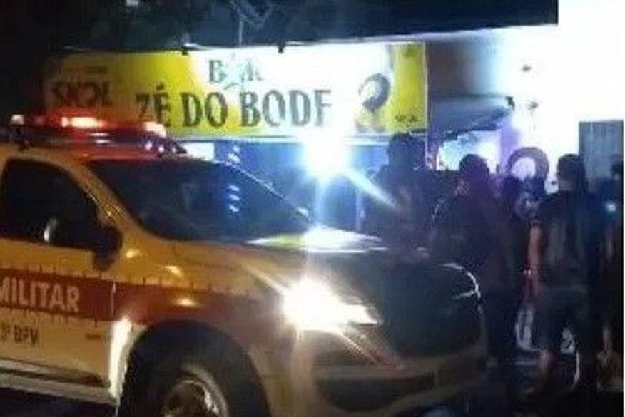 homicidio patos - Mulher é assassinada a tiros após discussão por causa de troco de R$0,50 em bar na Paraíba - VEJA VÍDEO