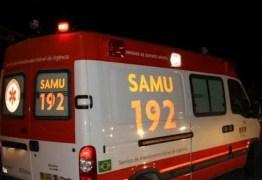 PERDEU O CONTOLE: casal fica gravemente ferido em acidente de moto, em Santa Rita