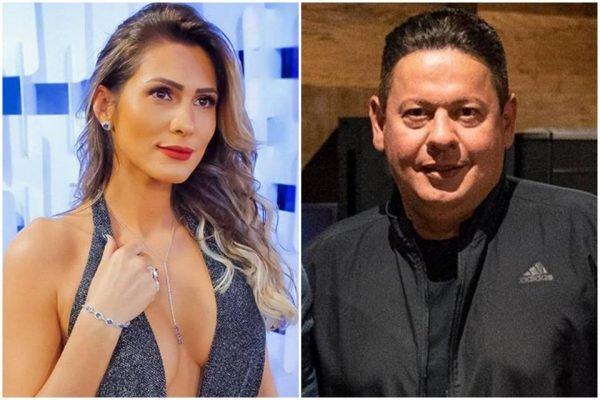 livia andrade marcos araujo 600x400 1 - Novo casal: Lívia Andrade e empresário de Gusttavo Lima vivem affair
