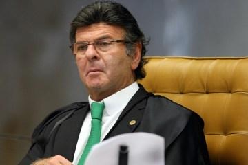 ministro luiz fux durante sessacc83o do stf - IMUNIZAÇÃO CONTRA COVID-19: Fux adia julgamento sobre plano de vacinação no Brasil