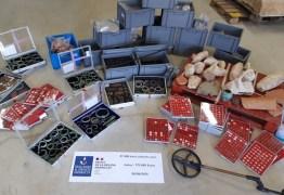 Homem é preso com 27 mil artefatos arqueológicos roubados, na Europa