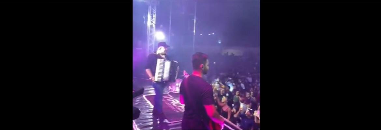 show acordeon - EM PLENA PANDEMIA: Vídeo mostra aglomeração de pessoas em show de forró - ASSISTA