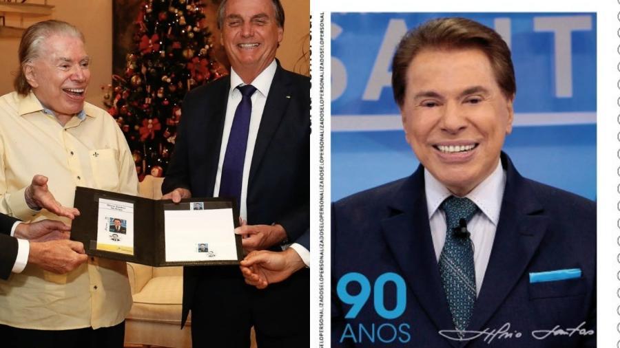 silvio santos 1608079946768 v2 900x506 - Silvio Santos ganha homenagem em selo e encontra Bolsonaro sem máscara; presidente é criticado