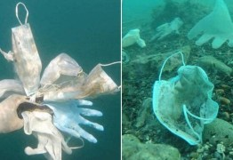 Mais de 1,5 bilhão de toneladas de máscaras acabaram no mar em 2020, alerta entidade