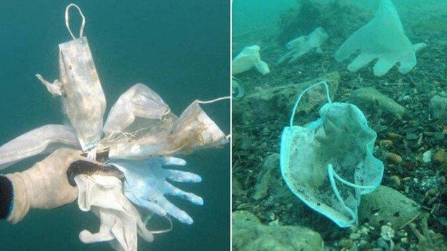 xblog masks 2.jpg.pagespeed.ic .2qc 8wFc95 - Mais de 1,5 bilhão de toneladas de máscaras acabaram no mar em 2020, alerta entidade
