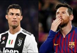 Cristiano Ronaldo e Messi recusam R$ 40 milhões para promover a Arábia Saudita