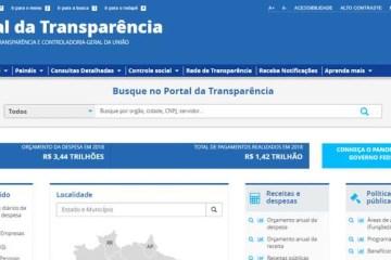 'APAGÃO'?! Em meio a polêmica com compras do governo, Portal da Transparência fica fora do ar