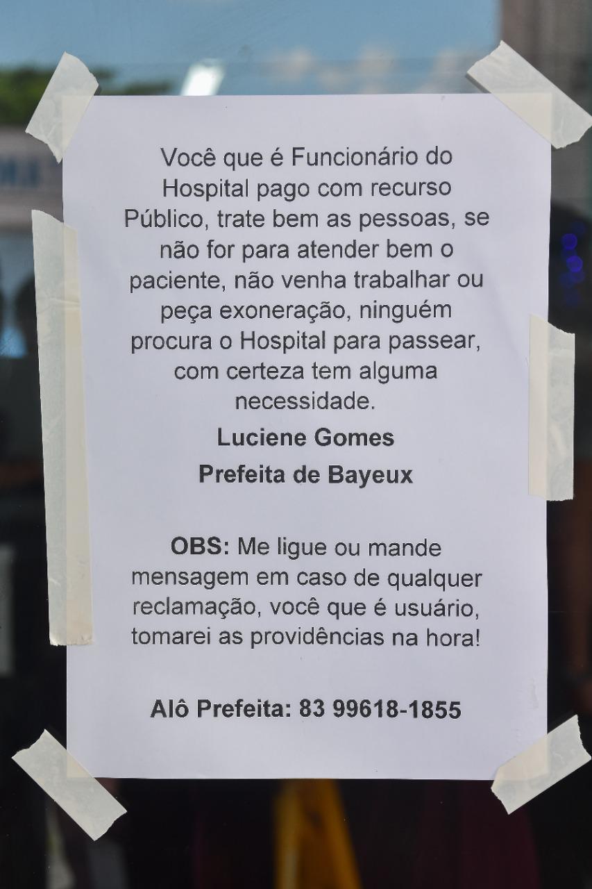 20e0ad31 9dd2 414a b475 6aa6b2d96fcf - 'Alô Prefeita': No seu primeiro dia após posse, Luciene Gomes coloca promessa de campanha em prática