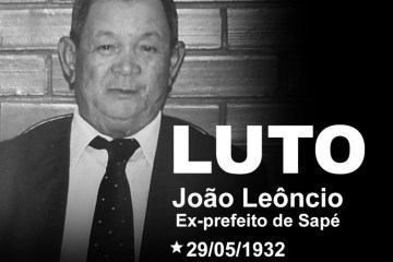 "Famup lamenta morte de ex-prefeito de Sapé: ""Deixou seu legado para a cidade"""