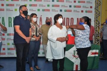 Santa Rita inicia campanha de vacinação contra Covid-19