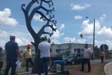 Ministério Público de Contas protocola representação contra a Prefeitura de Conde por retirada de monumento; leia documento