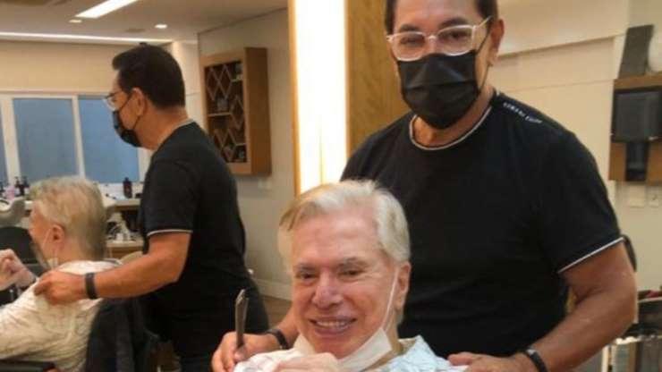 BB1cJlpM - Silvio Santos se despede de cabelo branco e surge com visual renovado um mês após aniversário de 90 anos