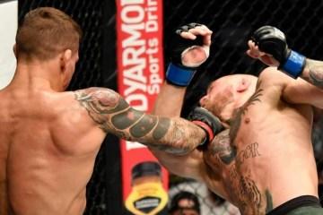 UFC: Dustin Poirier atropela Conor McGregor com nocaute devastador