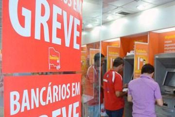 Bancários paralisam atividades por duas horas na sexta feira em Natal - Bancários paralisam atividades por 24h em todo o Brasil